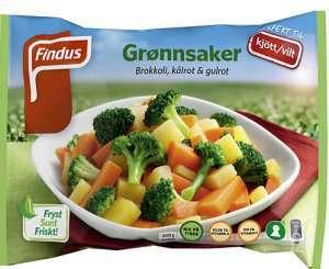 Prøv også Findus Grønnsaker Kjøtt/Vilt.