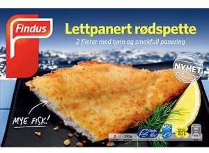 Prøv også Findus Lettpanert Rødspette.