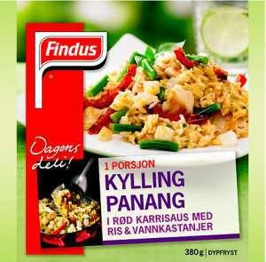 Bilde av Findus Kylling Panang.