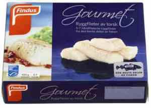 Prøv også Findus Gourmet Torskefilet.