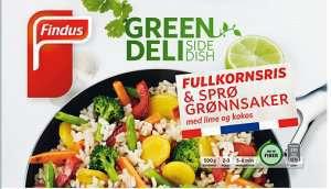 Prøv også Findus Fullkornsris & Sprø grønnsaker.