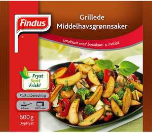Prøv også Findus Grillede Middelhavsgrønnsaker.