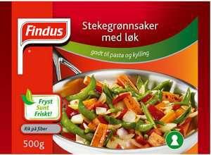 Prøv også Findus Stekegrønnsaker med Løk.