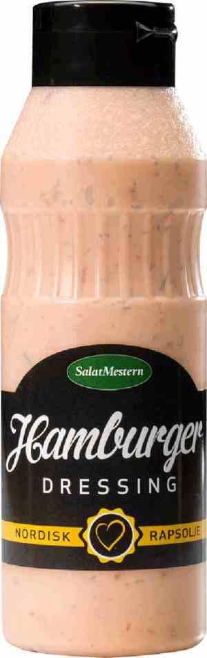 Prøv også Salatmesteren hamburgerdressing.