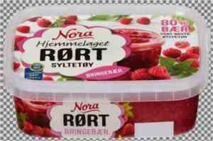 Prøv også Noras Rørte Bringebærsyltetøy.