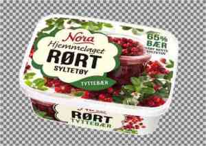 Prøv også Noras Rørte Tyttebærsyltetøy.
