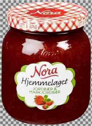 Prøv også Noras hjemmelaget jordbær og markjordbær.