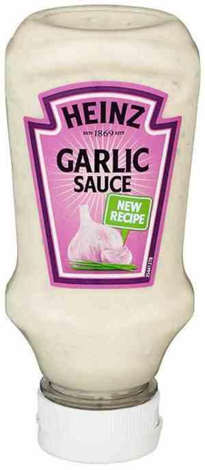 Prøv også Heinz Garlic Sauce.