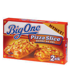 Bilde av Big One Pizza Slice Skinke og Ost.