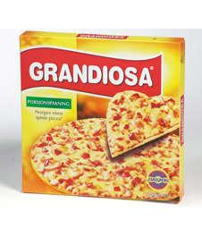Bilde av Grandiosa Pizza Porsjon.