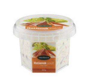 Prøv også Salatmesteren italiensk salat med kjøtt.