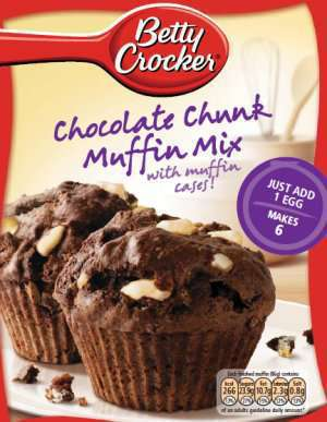 Bilde av Betty Crocker choc chunk mix.