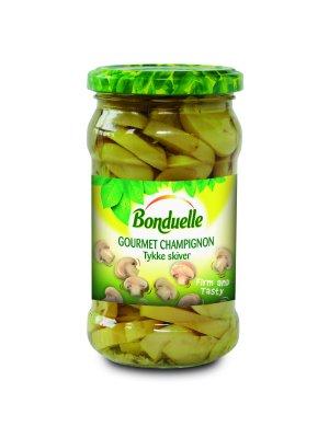 Prøv også Bonduelle Gourmet Champignon – Tykke skiver.