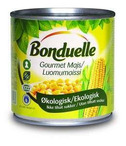 Bilde av Bonduelle Økologisk Gourmet mais.