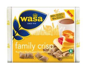 Prøv også Wasa Family Crisp Rug.