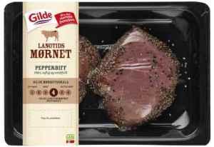 Prøv også Gilde Langtidsmørnet Pepperbiff.