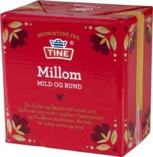 Prøv også Tine Millom brunost.