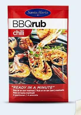 Prøv også Santa Maria BBQ Rub chili.