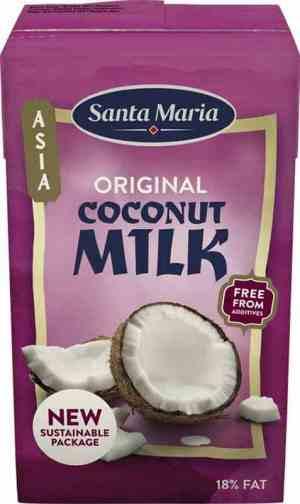Prøv også Santa Maria Coconut milk.