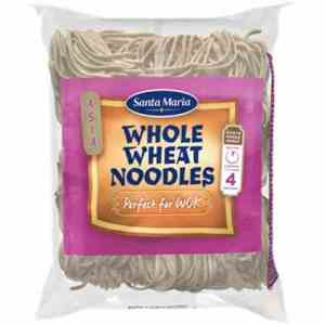 Bilde av Santa Maria Whole Wheat Noodles.