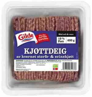 Prøv også Gilde kjøttdeig av storfe og svin.