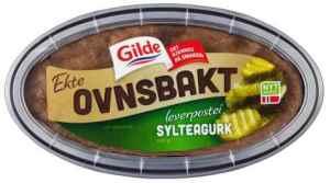 Prøv også Gilde Ekte ovnsbakt leverpostei med sylteagurk.