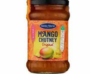 Prøv også Santa Maria Mango Chutney Original.