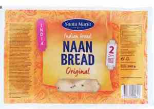 Prøv også Santa Maria Naan Bread.