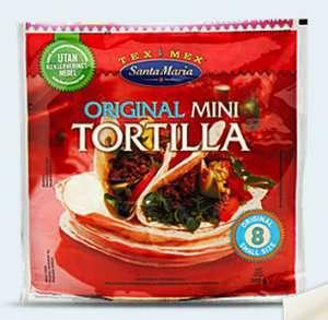 Prøv også Santa Maria Mini Tortilla.