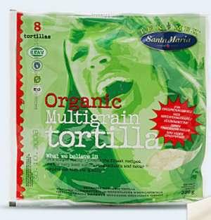 Bilde av Santa Maria Organic Multigrain Tortilla.