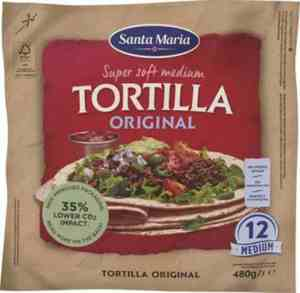 Prøv også Santa maria Soft Tortilla.