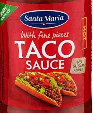 Prøv også Santa Maria Taco Saus Hot.