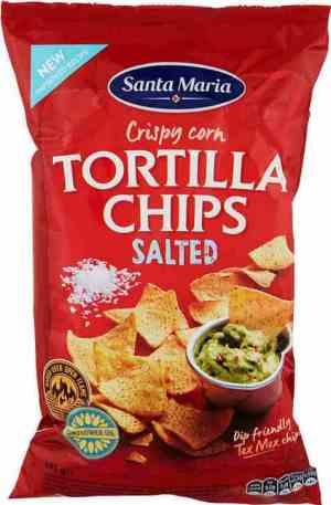 Bilde av Santa maria Tortilla Chips salted.
