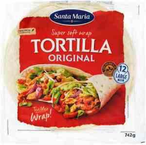 Prøv også Santa maria Wrap Tortilla Original.