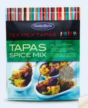 Prøv også Santa Maria Tapas Spice Mix.