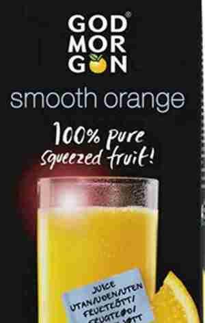 Prøv også Arla God Morgen Appelsin/Smooth.