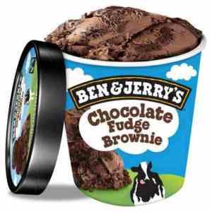Prøv også Ben and Jerry Chocolate Fudge Brownie.
