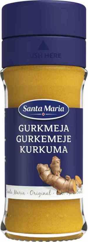 Prøv også Santa Maria Gurkemeie.