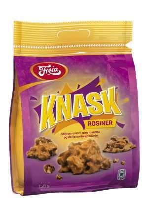 Prøv også Freia Knask Rosiner.