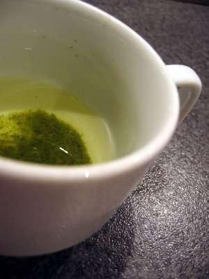 Prøv også Te, grønn, tilberedt.