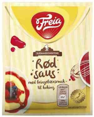 Prøv også Freia bringebærsaus koke.