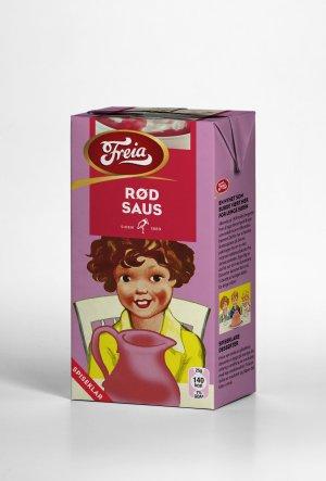 Prøv også Freia rød saus spiseklar.