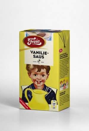 Prøv også Freia vaniljesaus spiseklar.