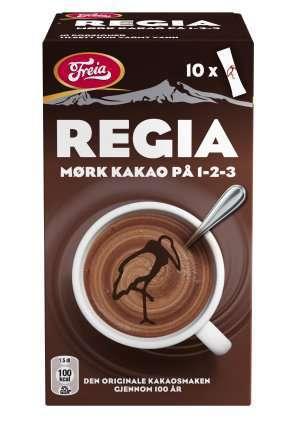 Prøv også Freia regia mørk sjokoladedrikk.