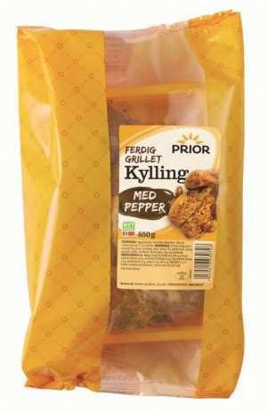 Prøv også Prior stor kylling med pepper grillet.