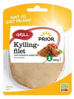 Prøv også Prior kyllingfilet grill.