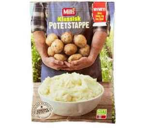 Prøv også Mills Klassisk Potetstappe.