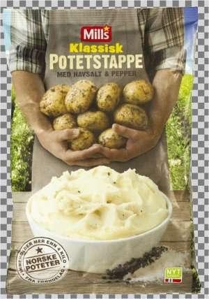 Prøv også Mills Potetstappe m/havsalt og pepper.