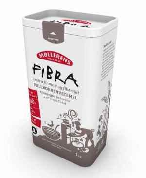 Prøv også Møllerens Fibra fullkorns hvetemel.