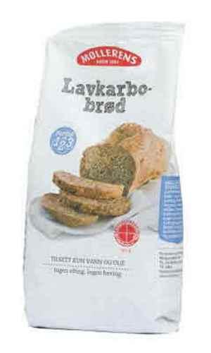 Prøv også Møllerens lavkarbobrød.
